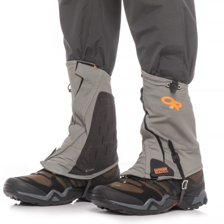 Outdoor Research Endurance Gaiters (For Men and Women) in Pewter/Ember