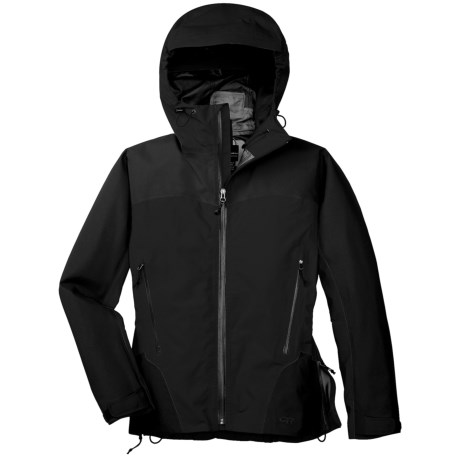 Outdoor Research Enigma Gore-Tex® Performance Shell Jacket - Waterproof (For Women) in Black