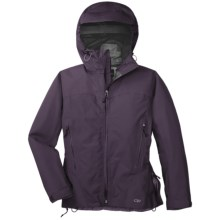 Outdoor Research Enigma Gore-Tex® Performance Shell Jacket - Waterproof (For Women) in Eggplant - Closeouts