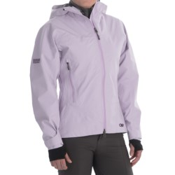 Outdoor Research Enigma Gore-Tex® Performance Shell Jacket - Waterproof (For Women) in Lilac