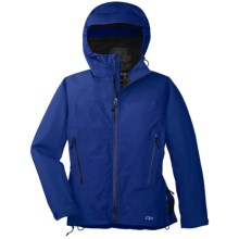 Outdoor Research Enigma Gore-Tex® Performance Shell Jacket - Waterproof (For Women) in Sapphire - Closeouts