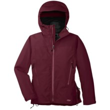 Outdoor Research Enigma Gore-Tex® Performance Shell Jacket - Waterproof (For Women) in Zin - Closeouts