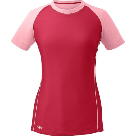 photo: Outdoor Research Essence Duo Tee short sleeve performance top