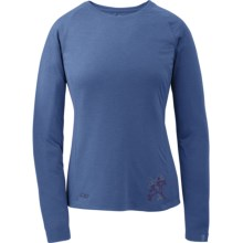 Outdoor Research Essence Shirt - Wool Blend, Long Sleeve (For Women) in Bluebird - Closeouts