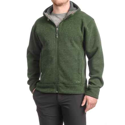 Outdoor Research Exit Sweatshirt - Full Zip (For Men) in Evergreen - Closeouts