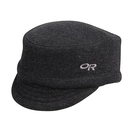 Outdoor Research Exit Wool Cap (For Men and Women) in Black