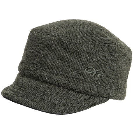Outdoor Research Exit Wool Cap (For Men and Women) in Evergreen