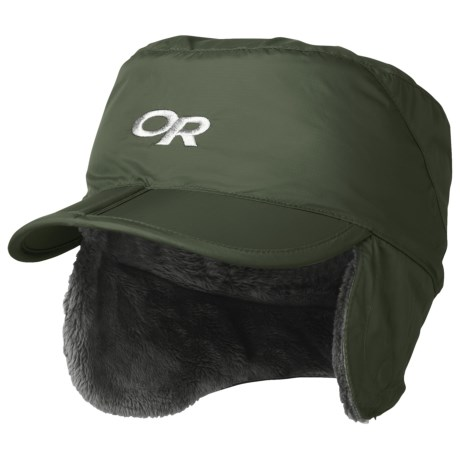 Outdoor Research Expedition Hat - Ear Flaps (For Kids) in Evergreen
