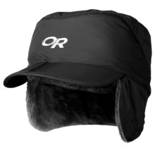 Outdoor Research Expedition Hat - Ear Flaps (For Little and Big Kids) in Black - Closeouts