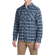 Outdoor Research Feedback Flannel Shirt - Long Sleeve (For Men) in Dusk - Closeouts