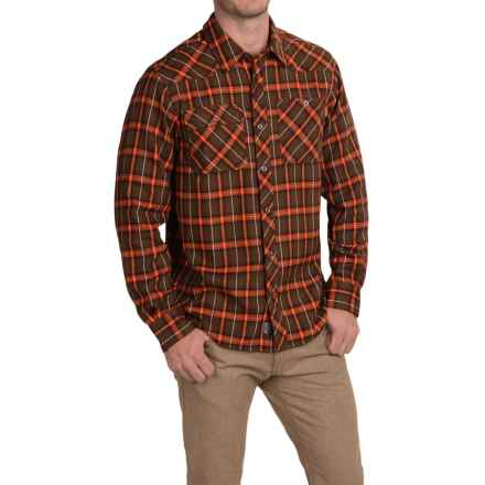Outdoor Research Feedback Flannel Shirt - Long Sleeve (For Men) in Earth - Closeouts