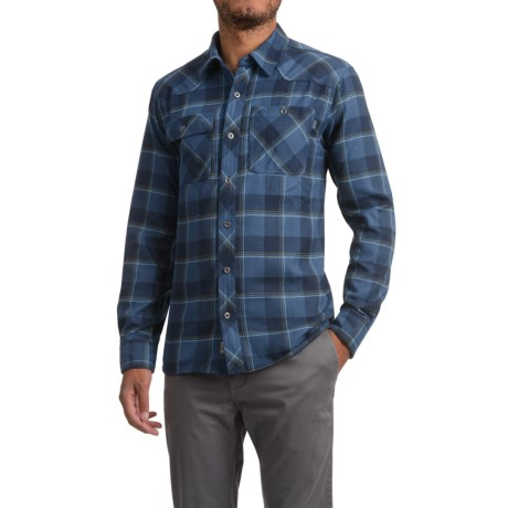 Outdoor Research Feedback Flannel Shirt - Long Sleeve (For Men) in Night