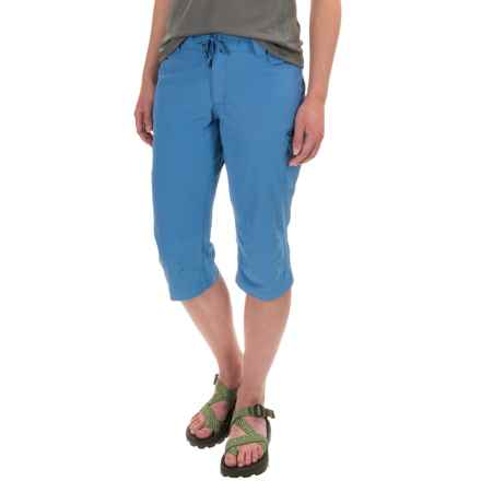 Outdoor Research Ferrosi Capri Pants (For Women) in Cornflower - Closeouts