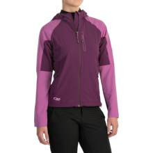 Outdoor Research Ferrosi Jacket (For Women) in Orchid/Crocus - Closeouts