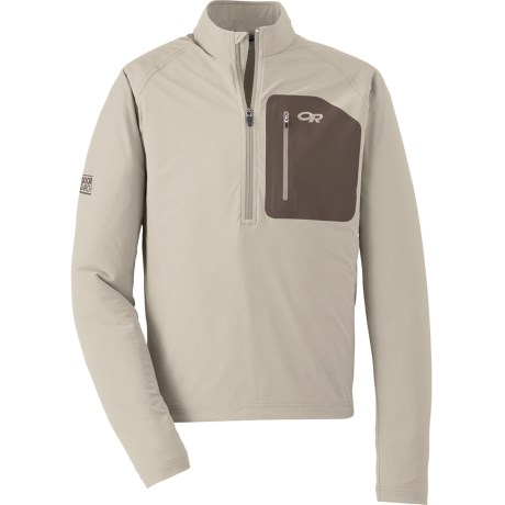 Outdoor Research Ferrosi Windshirt Soft Shell Jacket (For Men) in Cairn/Walnut