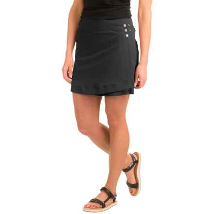 Outdoor Research Ferrosi Wrap Skirt (For Women) in Black - Closeouts