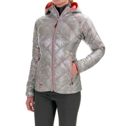 Outdoor Research Filament Down Jacket - 800 Fill Power (For Women) in Alloy/Flame - Closeouts