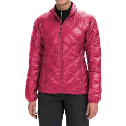 Outdoor Research Filament Down Jacket - 800 Fill Power (For Women) in Desert Sunrise/Mulberry - Closeouts