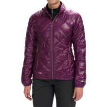 Outdoor Research Filament Down Jacket - 800 Fill Power (For Women) in Orchid/Crocus - Closeouts