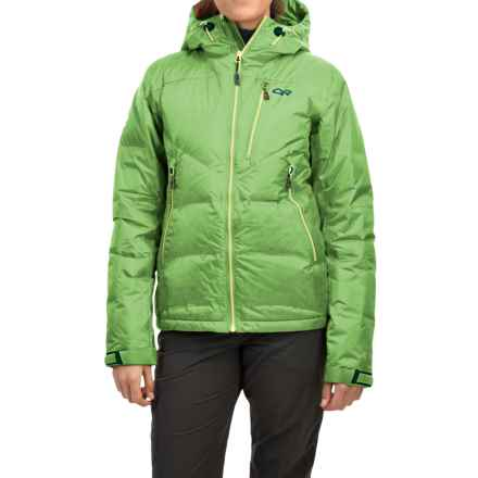 Outdoor Research Floodlight Down Jacket - Waterproof, 800 Fill Power (For Women) in Apple - Closeouts