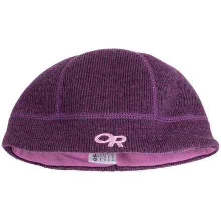 Outdoor Research Flurry Wool Beanie  - Fleece Ear Band (For Little and Big Kids) in Orchid - Closeouts