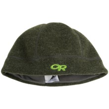 Outdoor Research Flurry Wool Beanie Hat (For Little and Big Kids) in Evergreen - Closeouts