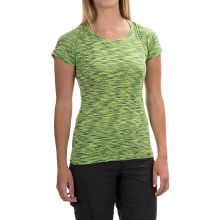 Outdoor Research Flyway Shirt - Short Sleeve (For Women) in Apple/Laurel - Closeouts
