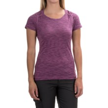 Outdoor Research Flyway Shirt - Short Sleeve (For Women) in Orchid/Crocus - Closeouts