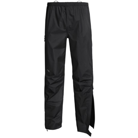 Outdoor Research Foray Gore-Tex® PacLite® Shell Pants - Waterproof (For Men) in Black