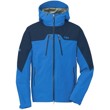 Outdoor Research Furio Gore-Tex® Jacket - Waterproof (For Men) in Glacier/Abyss