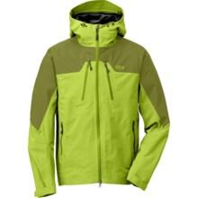 Outdoor Research Furio Gore-Tex® Jacket - Waterproof (For Men) in Lemongrass/Hops - Closeouts