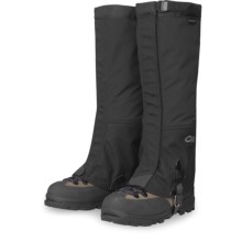 Outdoor Research Gaiters - Gore-Tex® Crocodile (For Men) in Black - Closeouts