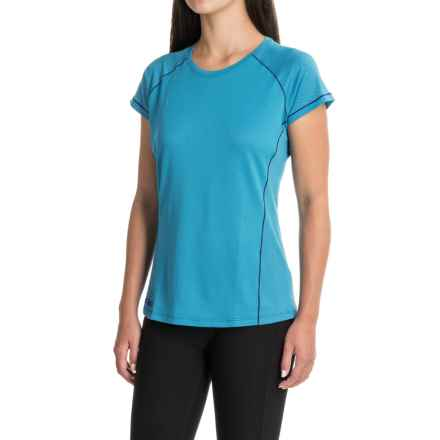 Outdoor Research Gauge T-Shirt - Short Sleeve (For Women) in Oasis - Closeouts