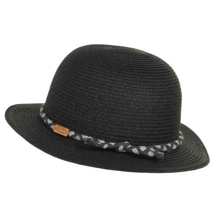 Outdoor Research Glimpse Hat - Paper Straw (For Women) in Black - Closeouts