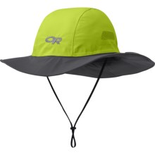 Outdoor Research Gore-Tex® Seattle Sombrero - Waterproof (For Men and Women) in Lemongrass/Dark Grey - Closeouts