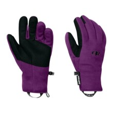 Outdoor Research Gripper Gloves - Windstopper® (For Women) in Orchid - Closeouts
