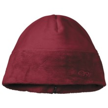 Outdoor Research Habitat Beanie Hat (For Women) in Retro Red - Closeouts