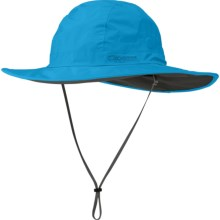 Outdoor Research Halo Sombrero Hat - Waterproof (For Men and Women) in Hydro - Closeouts