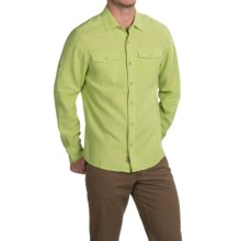 Outdoor Research Harrelson Shirt - Organic Cotton-Hemp, Long Sleeve (For Men) in Palm - Closeouts