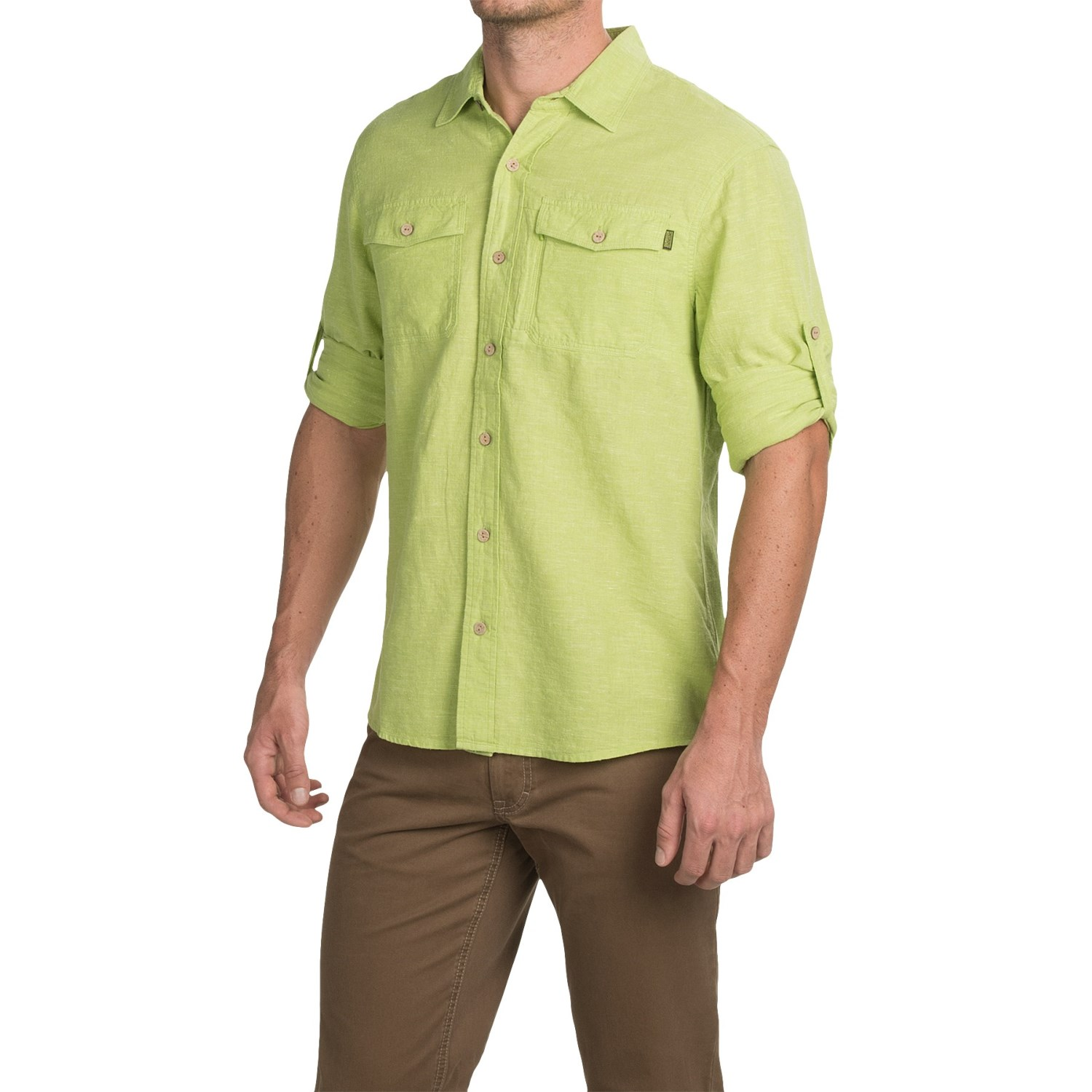 Outdoor research harrelson shirt for men save 77 for Mens outdoor long sleeve shirts