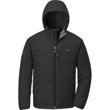 Outdoor Research Havoc Jacket - Windstopper®, PrimaLoft® (For Men) in Black - Closeouts