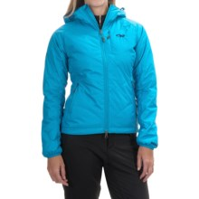 Outdoor Research Havoc Windstopper® Jacket - Insulated (For Women) in Alpine Lake - Closeouts