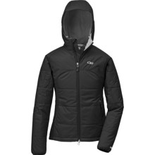 Outdoor Research Havoc Windstopper® Jacket - Insulated (For Women) in Black - Closeouts