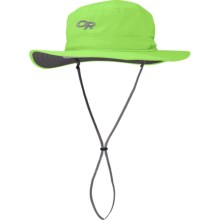 Outdoor Research Helios Sun Hat (For Men and Women) in Olivine - Closeouts