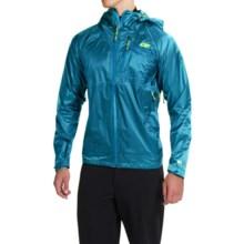 Outdoor Research Helium HD Jacket - Waterproof (For Men) in Hydro/Lemongrass - Closeouts