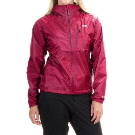 Outdoor Research Helium II Jacket - Waterproof (For Women) in Desert/Sunrise