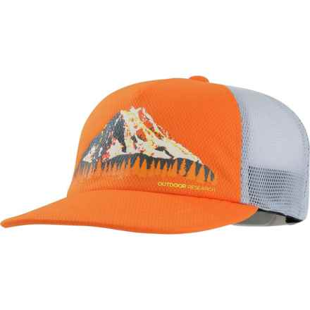 9b6753c4 Outdoor Research High-Performance Trail Run Trucker Hat (For Men) in Ember -