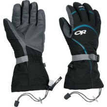 Outdoor Research Highcamp PrimaLoft® Gloves - Waterproof, Insulated (For Women) in Black - Closeouts