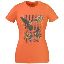 Outdoor Research Hummingbird Tech T-Shirt - Dri-Release®, Short Sleeve (For Women) in Tigerlily - Closeouts