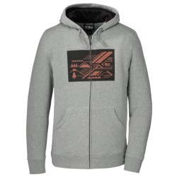 Outdoor Research Hydrologic Hoodie Sweatshirt - UPF 15, Full Zip (For Men) in Silver